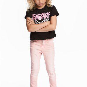 H&M Super Stretch Skinny Fit Jeans Sz 8-9Y NWT